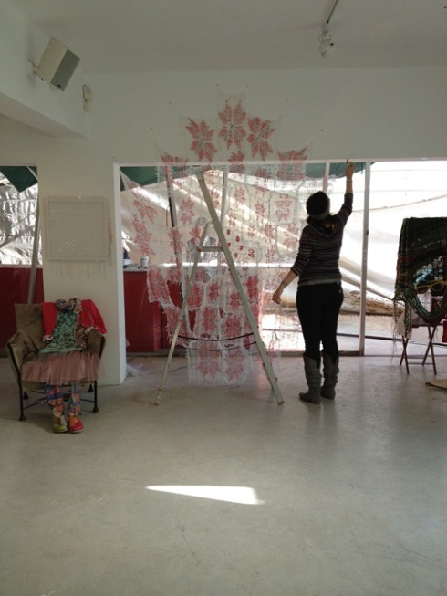 הקמת תערוכה