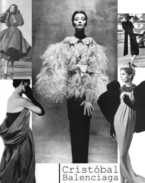 דגמים בסגנון המראה החדש של בלנסיאגה (1937)