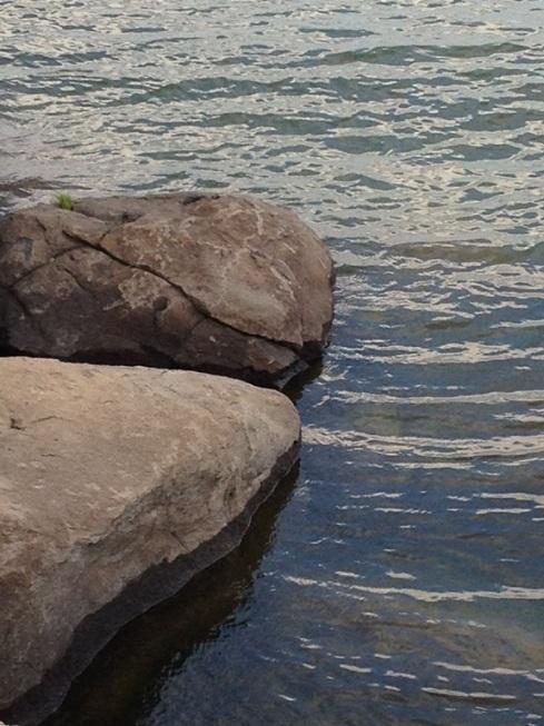 אדוות על חוף הכנרת