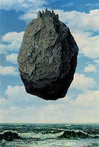 הסלע המרחף של רנה מגריט