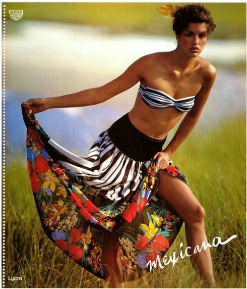 בגד ים וחצאית1980, צילום: בן לם