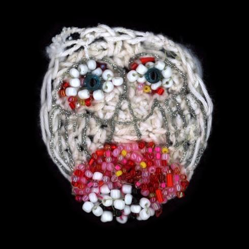 יצירה של סטפן גולדרייך מתוך התערוכה 'מלאכה בנים'