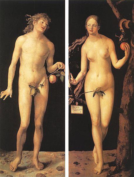 אלברכט דירר 'אדם וחוה'
