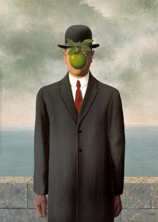 התפוח המפתיע של מגריט הסוריאליסט