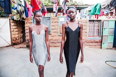 הדגמים של נולה בתצוגת אופנה בקניה לרגל יום העצמאות ה-65 של מדינת ישראל