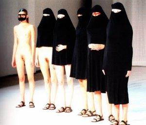 hussein chalayan burka