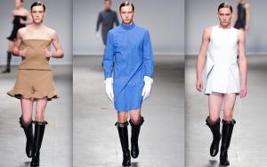 אופנה גברית בסגנון נשי